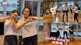 首挑戰Kangoo Jumps企唔穩 鍾嘉欣正式落場跳冇甩beat   娛圈事