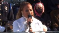 Jennifer Lopez Sings 'This Land Is Your Land' at Biden Inauguration
