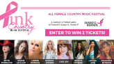 Watch to win tickets to Pink Country Music Festival
