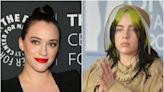 Kat Dennings says she 'looked exactly like' Billie Eilish at her age, tells body-shamers to 'f--- right off'