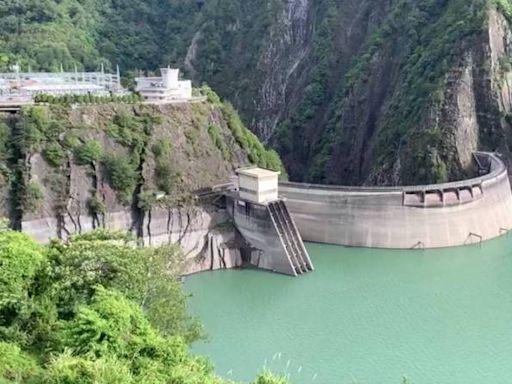 德基水庫蓄水率終於突破50%!水量一夜暴增534萬噸