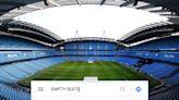 Man City trolled as Google Maps hackers link 'empty seats' to 'Etihad Stadium'