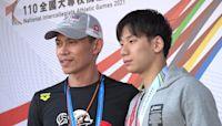 《游泳》臺師大雙雄泳池表現搶眼 王冠閎、吳浚鋒都打破全國紀錄