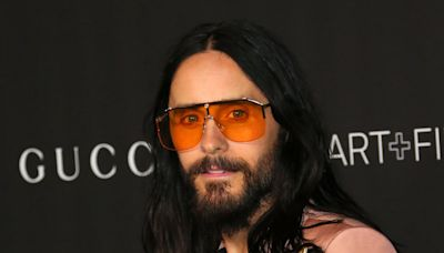 House of Gucci: Jared Leto is unrecognisable in fat suit and prosthetics in first poster for Lady Gaga film