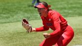 Monica Abbott has carried the U.S. softball team, and it refused to let her down