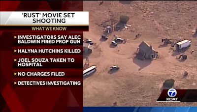 Rust movie set shooting: Alec Baldwin fired prop gun that fatally wounded Halyna Hutchins