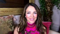 Elizabeth Hurley talks about breast cancer awareness, her son and more