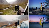 Movie-loving couple travel the world to find secret filming locations