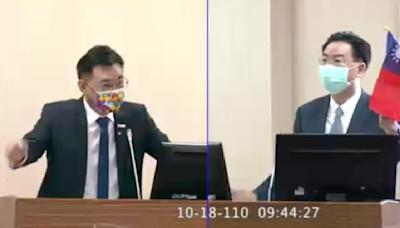江啟臣質疑給立院報告沒寫「中華民國」 吳釗燮:封面就有寫
