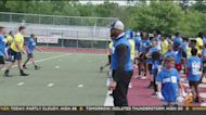 Rams DL Aaron Donald Holds Skills Camp At Penn Hills High School