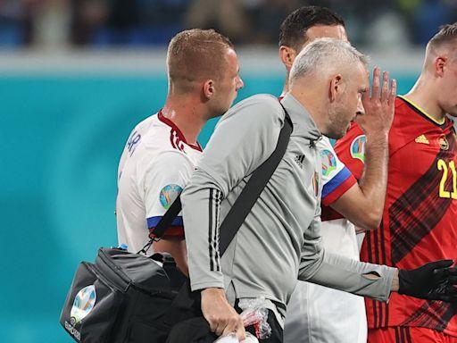 歐國盃|比利時添兩傷兵 卡斯泰尼眼窩骨折告別歐國盃 | 蘋果日報