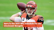 Cincinnati Bengals 2021 NFL schedule