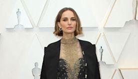 Natalie Portman honors snubbed female directors on Oscars cape