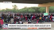 Crowd of migrants grows under Texas bridge as Border Patrol overwhelmed