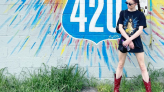Sophie Turner's Cherry Red Cowboy Boots Are the Coolest