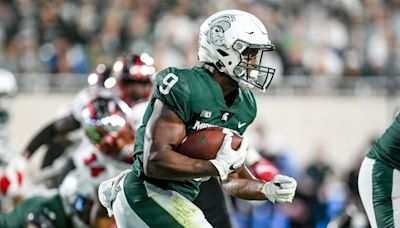 Michigan State football RB Kenneth Walker named a Midseason All-American