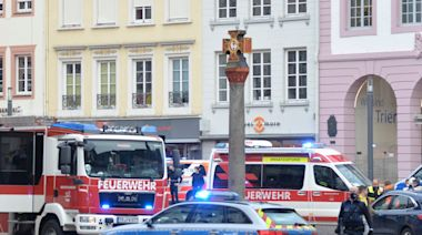 Trier: Five killed including baby as car driven into pedestrians in Germany