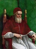 Portrait of Pope Julius II by Raphael - Facts about the Painting
