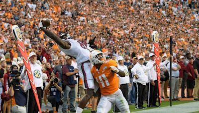 TV channel, kickoff time set for South Carolina road game against Tennessee
