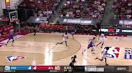 Sharife Cooper with a 2-pointer vs the Philadelphia 76ers