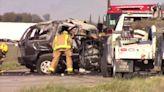 One killed in Highway 180 crash near Fresno after SUV crosses median. Victim ID'd