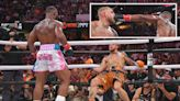 Watch Woodley rattle Paul's jaw with a huge hook as YouTuber shows his toughness