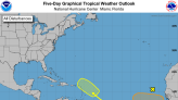 Now there are three. Hurricane center watching disturbances in the far eastern Atlantic