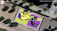 WEB EXTRA: Kobe Bryant Mural In Spain