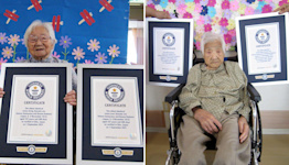 107-Year-Old Japanese Sisters, Who Were Born in 1913, Named the World's Oldest Identical Twins