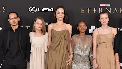 Angelina Jolie reveals that her kids are rebellious ... and she likes it