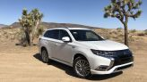 The 2021 Mitsubishi Outlander plug-in hybrid remains a tough sell