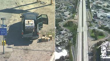 405 Fwy in Redondo Beach closed after accident involving box truck carrying hydrogen cyanide