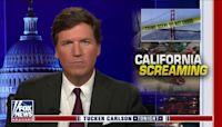Tucker Carlson flames Gov. Gavin Newsom on the 'death of suburbs'
