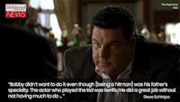 'Sopranos' Star Steve Schirripa Reveals the Bobby Baccalieri Moment That Wasn't Planned | THR News