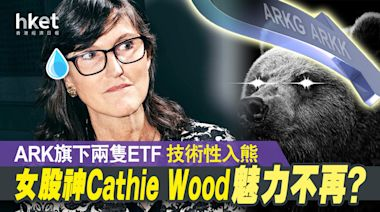 【科技股急挫】女股神Cathie Wood魅力不再? ARK 旗下兩隻ETF 高位跌兩成技術性入熊 - 香港經濟日報 - 即時新聞頻道 - 即市財經 - Hot Talk