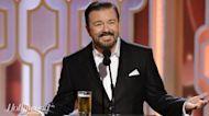Ricky Gervais Set to Host 2020 Golden Globes   THR News