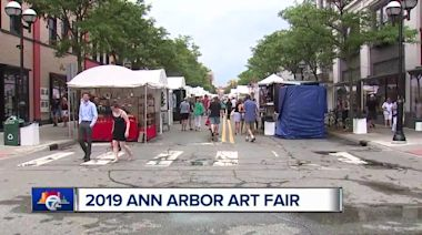 7 In Your Neighborhood: We're heading to the steamy Ann Arbor Art Fair Friday