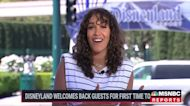 Disneyland welcomes back guests for first time today