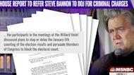 Glenn Kirschner: Steve Bannon has no factual or legal defense for criminal contempt charge