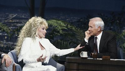 Dolly Parton Wrote the Funniest Tune for Johnny Carson, and You've Got to See Her Sing It on The Tonight Show