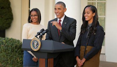 Barack Obama addresses daughters Sasha and Malia participating in Black Lives Matter protests