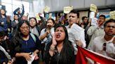 Young immigrants shout down Democratic leader Nancy Pelosi