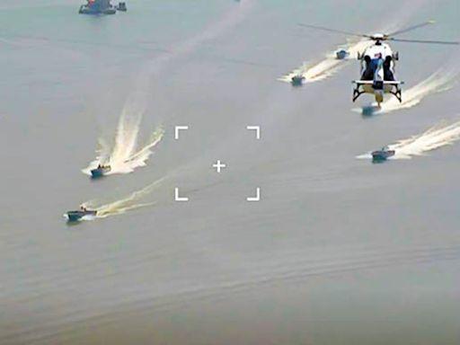 珠江口走私猖獗 廣州公安海陸空截擊