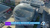 Academy Museum announces planned programs