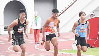 全運會/楊俊瀚100M10秒29奪4連霸個人第9金 很久沒那麼刺激跑