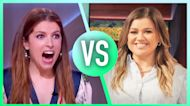 Anna Kendrick & Kelly Get WAY Competitive In Song Lyric Game: 'I Just Got My Butt Handed To Me'