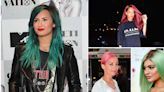 Celebs who love rocking crazy hair colors