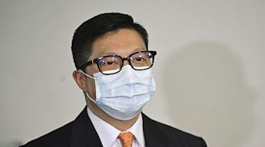 鄧炳強視察大潭峽懲教所 讚揚注入智慧元素有效減省工序