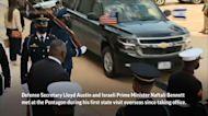 Israeli PM starts U.S. trip with Pentagon visit