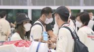 香港奧運羽毛球代表隊返抵香港 伍家朗:心情好